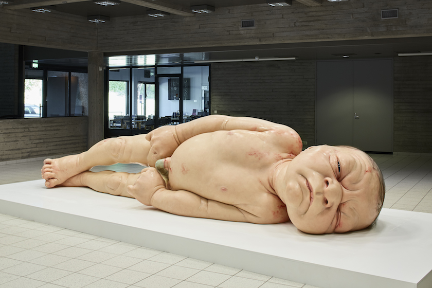 Mueck_A_Girl